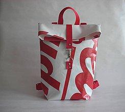 "Batohy - Banner batoh ""Červený"" - 10567112_"