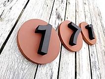 Tabuľky - Popisné číslo: Kruh - 10568544_