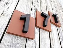 Tabuľky - Popisné číslo: Štvorec - 10568593_