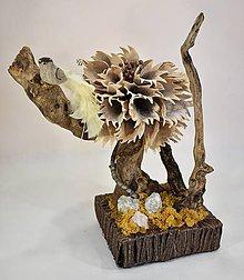 Dekorácie - Dekorácia: Exotický kvet s LED osvetlením - 10568437_
