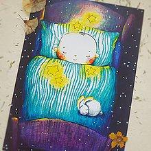 Kresby - Snívajúci Miško - 10568870_