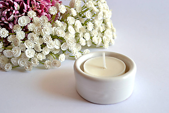 Svietidlá a sviečky - Svietnik na čajovku - 10566703_