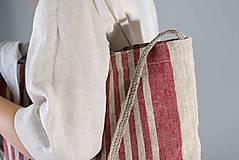 Nákupné tašky - Ľanová taška De Em - 10568692_