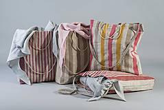 Nákupné tašky - Ľanová taška De Em - 10568699_