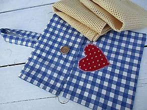Iné tašky - Modá taška na EKOvrecká - 10567798_