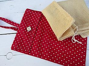 Iné tašky - červená taška na EKOvrecká - 10567858_
