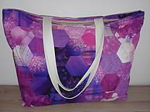 Veľké tašky - Taška fialová - 10567670_