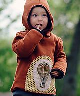 Detské oblečenie - Pro malé dobrodruhy - vzduchoplavce - 10567239_