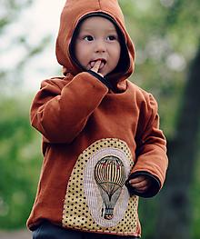 Detské oblečenie - Pro malé dobrodruhy - vzduchoplavce (92) - 10567239_