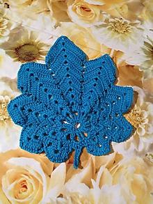 """Úžitkový textil - """"podpivník"""" v modrom - 10568074_"""