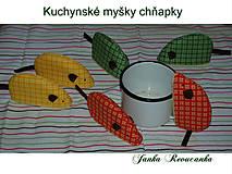 Úžitkový textil - chňapka myška - 10567977_
