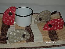 Úžitkový textil - chňapka myška - 10567985_