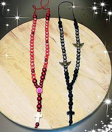 Iné šperky - Prívesok alebo amulet do auta na želanie s textom menom alebo dátumom aj farebne podla vašeho priania - 10569234_