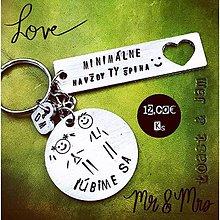 Kľúčenky - ... ľúbime sa :) - 10569440_