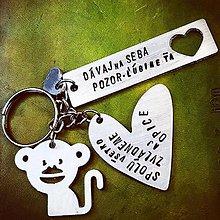 Kľúčenky - SPOLU všetko ZVLÁDNEME ... aj OPICE :) - 10569455_