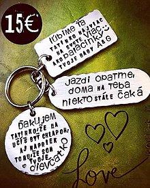 Kľúčenky - .. pre TATINKA :) - 10569493_