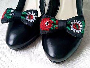 4741d2541 Obuv - Folklórne klipy na topánky (čierne) - 10569835_