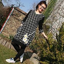 Šaty - Bodky a margarétky... - 10569387_