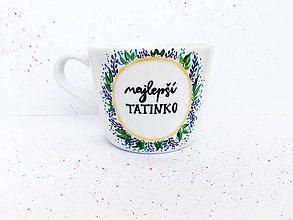 Nádoby - Najlepší tatinko - šálka na kávu - 10569810_