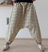 Nohavice - Harémové kalhoty JEŽCI - 10569783_