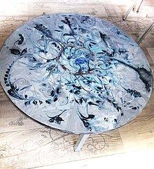 Nábytok - lel art design romantic- kávový stolík - 10571321_