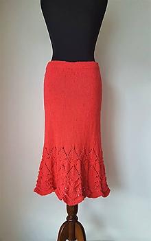 Sukne - Sukňa rustikálna- 100 % certifikovaná bavlna - 10570298_