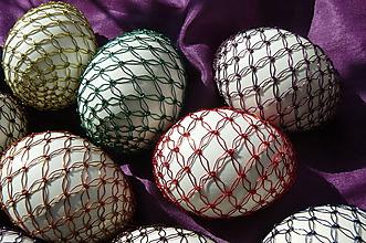 Dekorácie - Drôtované  kraslice - 10571029_