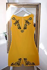 Šaty - SIEDME.. zo špeciálnej kolekcie šiat na módnu prehliadku s Lýdiou Eckhardt - 10570549_