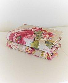 Papiernictvo - Obal na knihu so záložkou - rozkvitnutý strom, veľké kvety - 10569270_