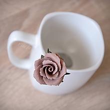 Pomôcky - Ruže - kokteilová lyžička - 10571425_