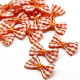 AP107 Textilná aplikácia MAŠLIČKA 3 cm (Oranžová)