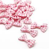 AP107 Textilná aplikácia MAŠLIČKA 3 cm (Ružová)