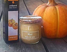 Potraviny - Med a dýňový ( tekvicový ) olej - 10570692_