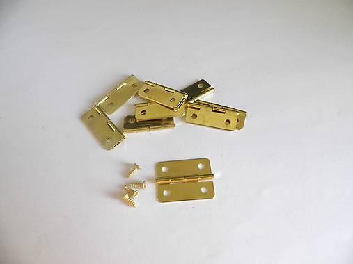 Pánt 24x20mm - zlatý