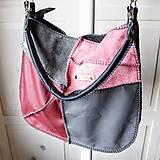 Veľké tašky - Casual leather *hobo* bag No.4 - 10569577_