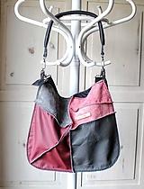 Veľké tašky - Casual leather *hobo* bag No.4 - 10569578_