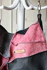 Veľké tašky - Casual leather *hobo* bag No.4 - 10569579_
