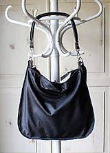 Veľké tašky - Casual leather *hobo* bag No.4 - 10569582_