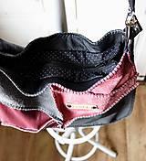Veľké tašky - Casual leather *hobo* bag No.4 - 10569584_
