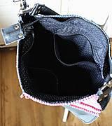 Veľké tašky - Casual leather *hobo* bag No.4 - 10569585_