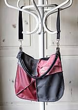 Veľké tašky - Casual leather *hobo* bag No.4 - 10569586_