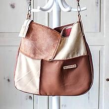 Veľké tašky - Casual leather *hobo* bag No.3 - 10569721_