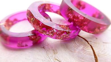 Prstene - Živicový prsteň - 10570168_