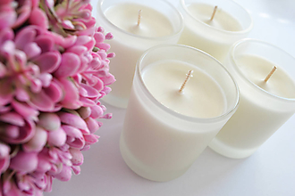 Svietidlá a sviečky - Láskavá štvorica - 10570267_