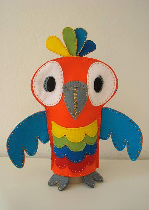 Papagáj René z Ria