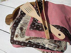 Úžitkový textil - kuchynské utierky-bezodpadové - 10569711_