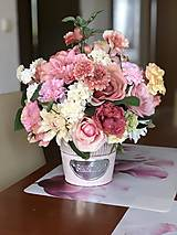 Dekorácie - Kvetinová dekorácia - 10569575_
