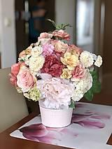Dekorácie - Kvetinová dekorácia - 10569576_