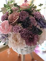 Dekorácie - Kvetinová dekorácia veľká - 10569594_
