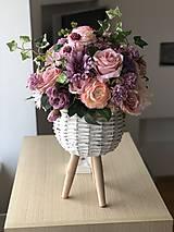 Dekorácie - Kvetinová dekorácia veľká - 10569597_